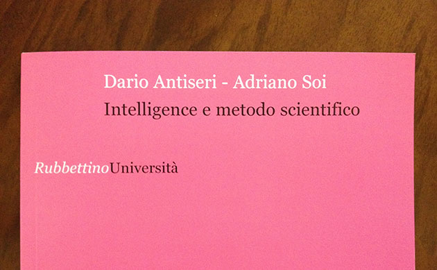 Intelligence e  metodo scientifico