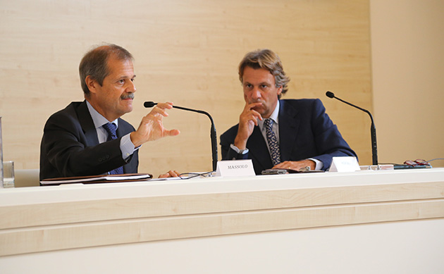Massolo e Porro al Cortile di Francesco, Assisi