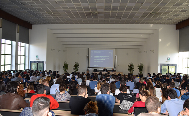 Lectio magistralis del pref. Pansa all'università Bocconi